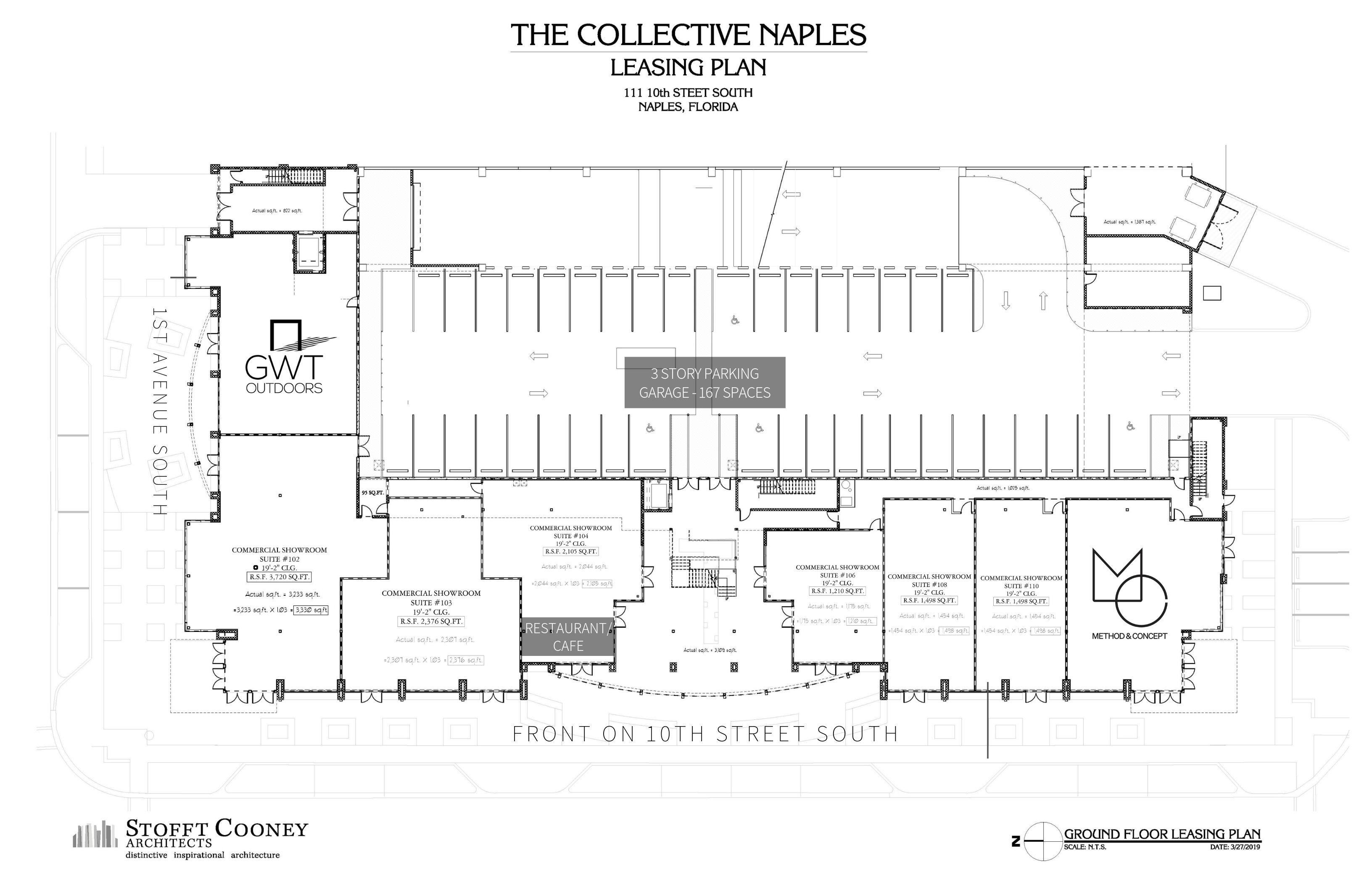 The Collective Rendering First Floor
