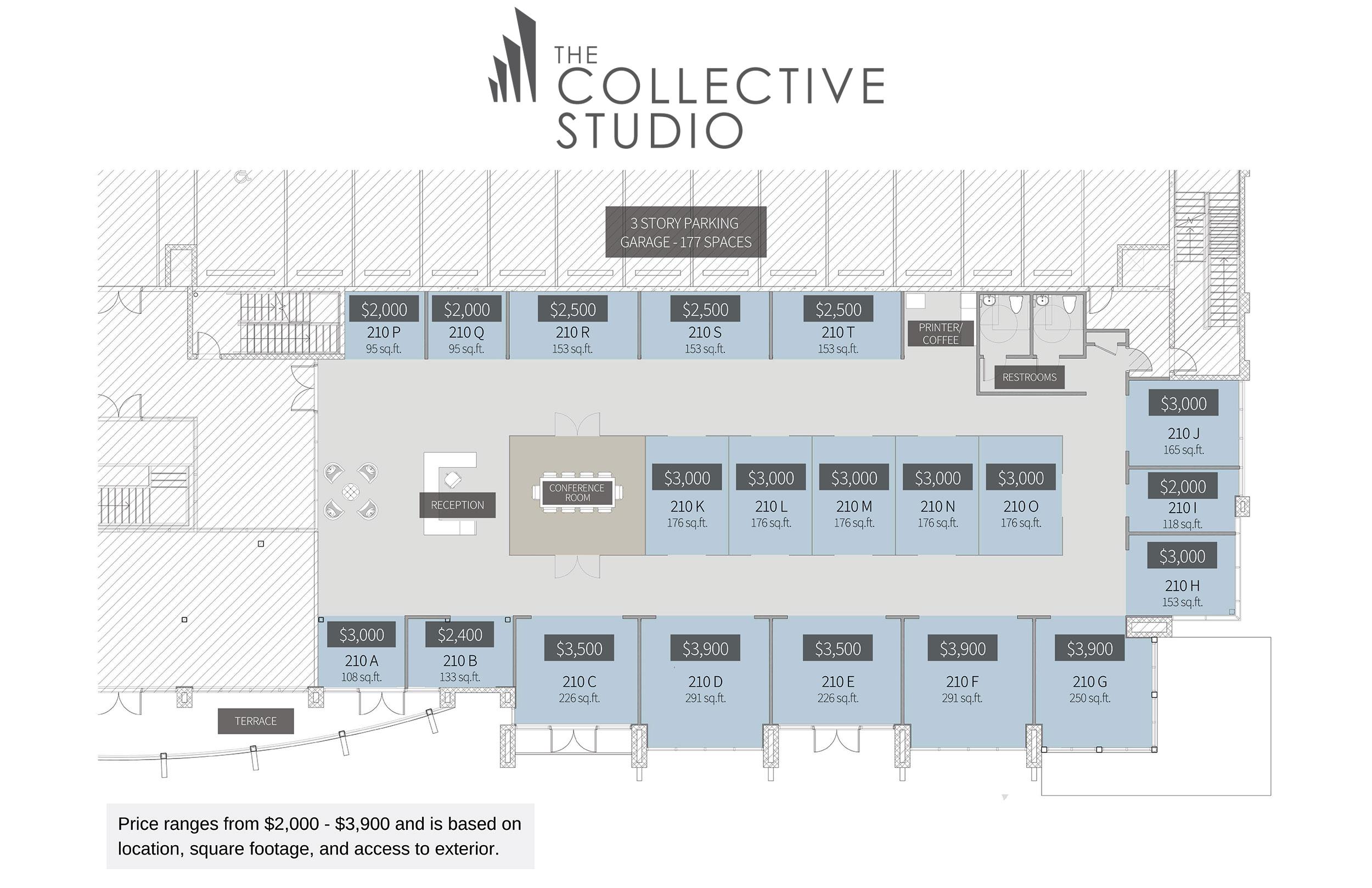 The Collective Studio Floor Plan
