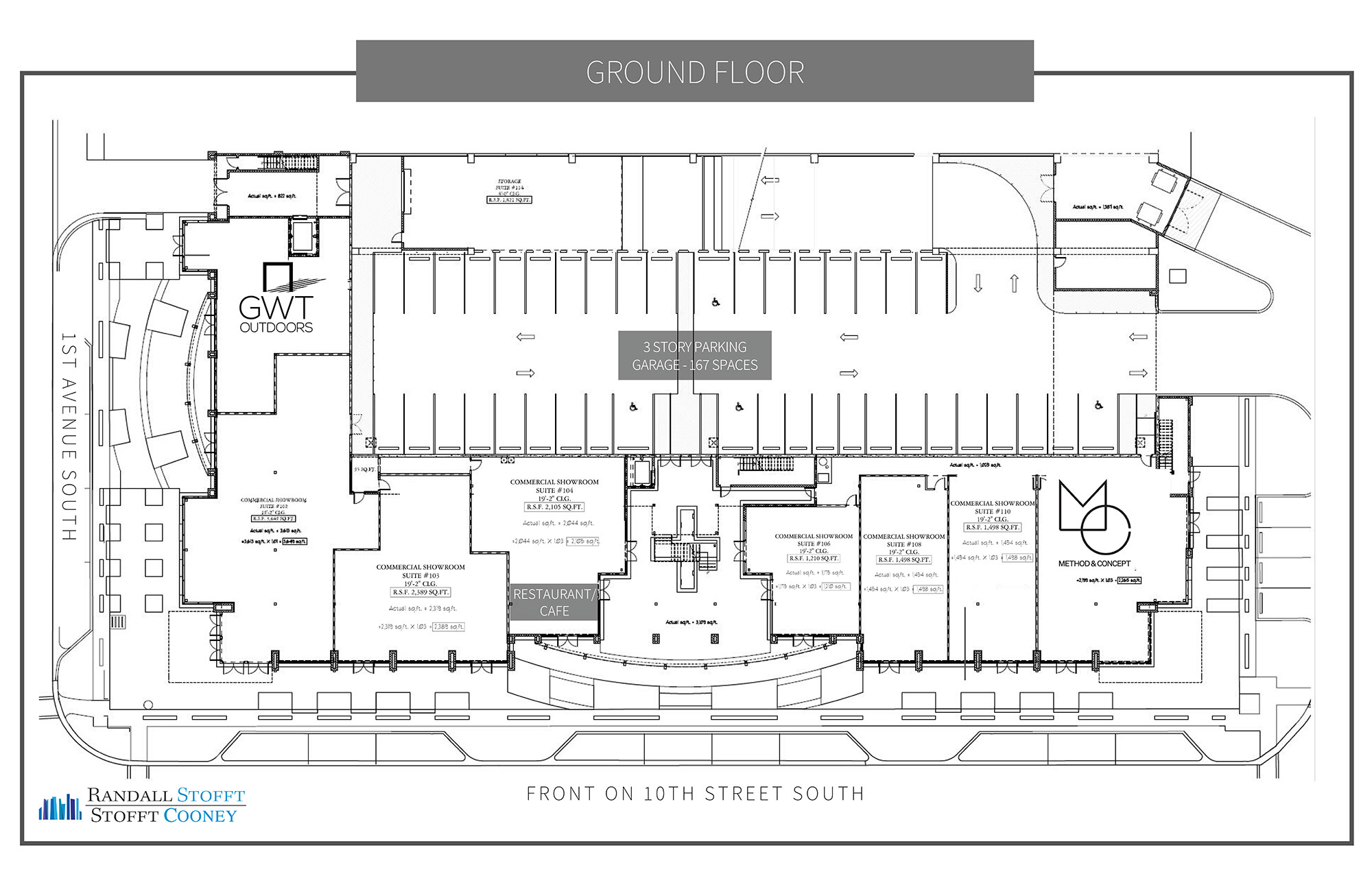 Ground Floor Leasing Plan