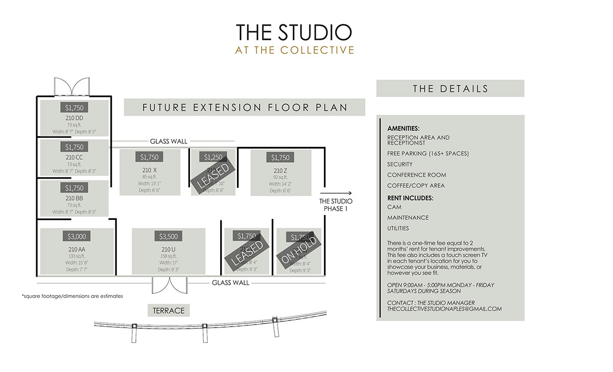 The Studio Extension at The Collective Leasing Plan