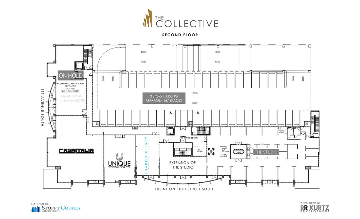 The Collective Second Floor Leasing Plans